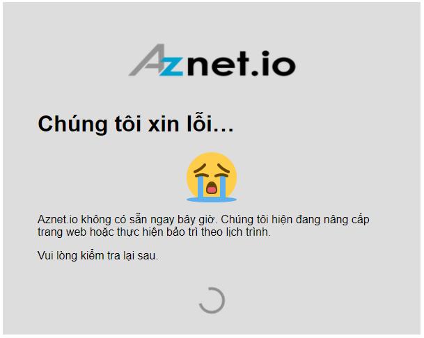 aznet.io errorpage